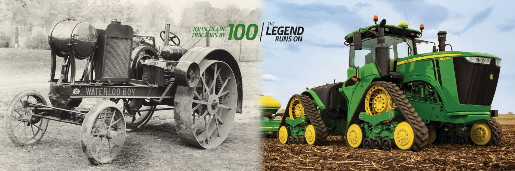 100 Years of John Deere Tractors_banner